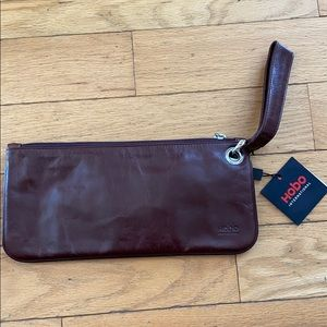 Hobo Soft Italian Leather Clutch